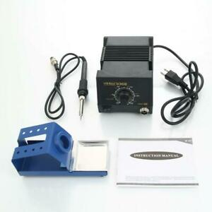 2in1 936b 110v Electric Rework Soldering Station Tool Welding Work Esd protected