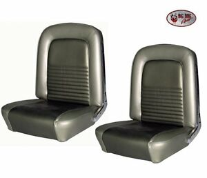 1967 Mustang Coupe Front Rear Seat Upholstery Tmi Made In The Usa Ships Free