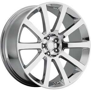 20x9 Chrome Wheel Oe Performance 146 2005 2006 Chrysler 300 Srt Replica 5x115