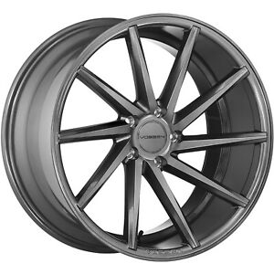 20x10 Gray Wheel Vossen Cvt 5x112 55