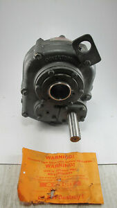 Hub City Power Torque Shaft Mount Gear Reducer Pt22115s 0270 02123 15 1 Ratio