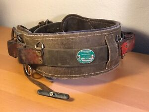Buckingham Size 26 Tree Pole Lineman Climbing Leather Tool Belt P n 1902