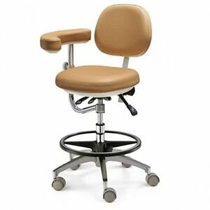 Dental Adjustable Chair Soft Pu Leather Doctor s Stool For Dentist Supply Sale