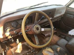 Nice 1983 Jeep Grand Wagoneer Steering Wheel With Horn Button J10 J20 Cj