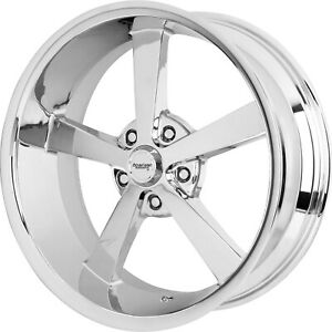 22x9 Chrome Wheel American Racing Vintage Super Nova 5 Vn508 5x115 15