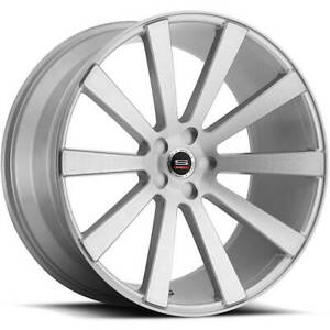 20x9 Silver Wheel Spec 1 Spl 002 5x4 5 32