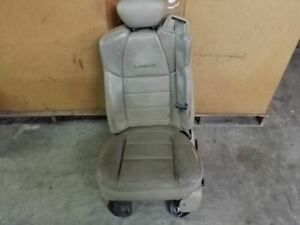 Front Left Driver Bench 40 20 40 Tan Leather Seat Fit 2001 2004 Ford F250 F350