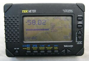 Tektronix Tek Meter True Rms Multi Meter auto Ranging Scope Thm565 Std