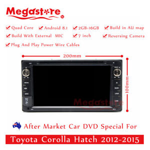 7 Android Car Dvd Gps Player Stereo Navi For Toyota Corolla Hatch 2012 2015