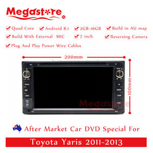 7 Android Car Dvd Gps Player Stereo Navi For Toyota Yaris 2011 2013