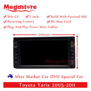 7 Car Dvd Gps Head Unit Player Stereo Radio Navi For Toyota Yaris 2005 2011