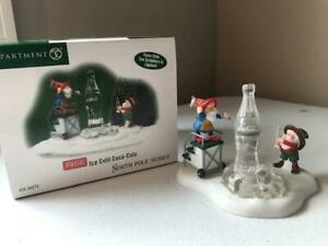 Department 56 Ice Cold Coca-Cola #56.56873 (FREE SHIPPING) Mint