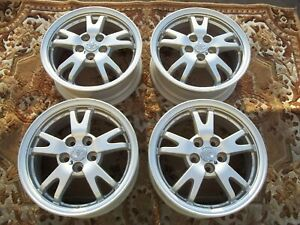 4 Toyota Tacoma 18 Wheels Chrome Clad Factory Rims 18 Tundra Sequoia 4runner Fj
