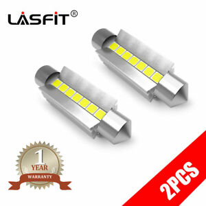 Lasfit Led Ceiling Dome Light Bulbs For Chevy 42mm 578 212 2 6000k Bright White