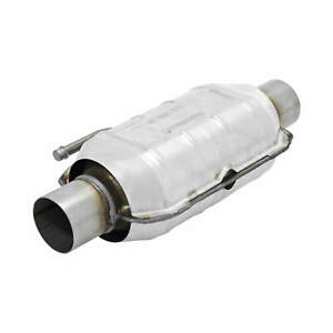 2250224 Flowmaster Catalytic Converter Universal 225 Series 2 25 Inlet outlet