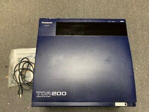 Panasonic Kx tda200 Hybrid Pbx Control Unit Phone System With Cards