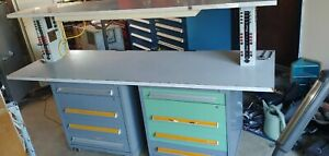 Used Vidmar Cabinets With Electrical Test Industrial Bench
