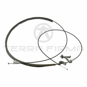 Trunk Lid Gas Filler Opener Cable For Nissan Skyline R34 Gtr Gtt