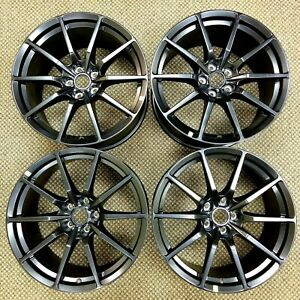 19 Ford Mustang Shelby Gt350 Staggered Wheels Rims Factory Oem 2015 2016 2017