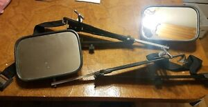 Vintage Truck Suv Van Rv Trailer Towing Side Mirrors Extender Extension Pair