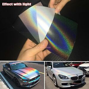 Vinyl Wrap Sample Here Car Chameleon Satin Mirror Chrome Pearl Metal Sticker Us