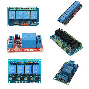 5x 5v 8 Channel Solid State Relay Module Board For Omron Ssr April Dsp For 6t8