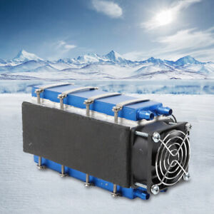 576w 8 chip Tec1 12706a Diy Thermoelectric Peltier Cooler Air Cooling Device 12v