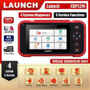 Launch X431 Crp129i Obd2 Scanner Engine Abs Srs Oil Tpms Sas Epb Diagnostic Tool