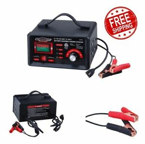 Battery Charger Engine Starter Speedway 2 10 50 Amp 12 Volt Handy Tool New