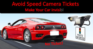 License Plate Tag Shield Photo Defense Cover Reflects Photo Radar Camera Flash