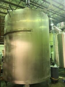 1500 Gallon Jacketed Stainless Steel Tank Never Used price Negotiable