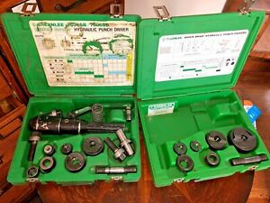 7806sb Greenlee Quick Draw Hydraulic Driver Punch Set 7906sb Accessories
