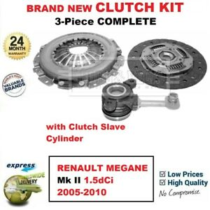 For Renault Megane Mk Ii 1 5dci 2005 2010 Brand New 3 piece Clutch Kit With Csc