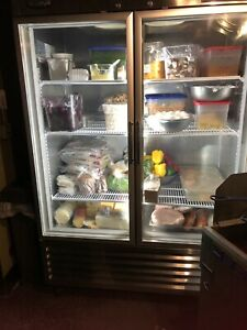 Turbo Air Tsr 49gsd n Maximum Two Section 54 Glass Door Refrigerator