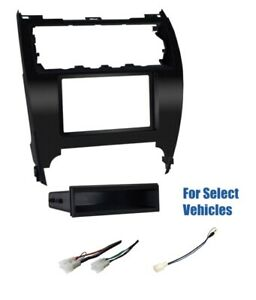Car Stereo Radio Install Dash Wire Kit Combo For Some 2012 2014 Toyota Camry