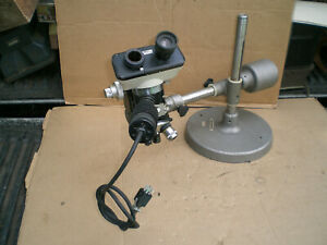 Nikon Microscope With Olympus Boom Stand