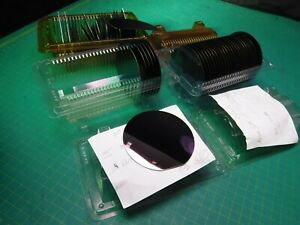 1 Lot 3 Silicon Wafers 3 Diameter Oxide Thickness 1989 53 12 215 2006 X9120