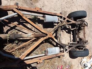 1958 Buick Special Rolling Chassis 1957 57 X Frame Off A 2 Door Hard Top