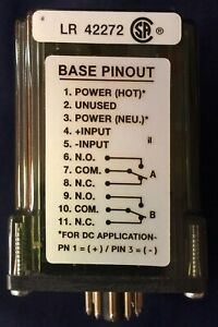Action Pak 1090 2000 1 Dual Channel Limit Alarm Relay With Base Socket