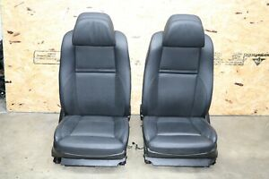 Front Pair Of Left Right Side Seats Oem Bmw E70 E71 Black Heated Ac Cooled