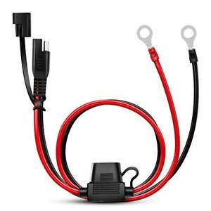 Nilight 2 Pin Sae Plug Trailer Light Harness Extension Cable Flat Wire Connector