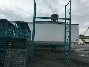 4 Sections Pallet Rack 32 l X 15 t X 42 Deep slotted Style 5 Uprights