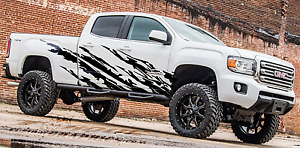 Warrior bed Graphics vinyl Decal Ford Chevy Ram Trucks Custom Graphics