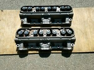 1967 67 Gto Firebird Pontiac Fresh 670 Cylinder Heads 400 Ho Ram Air 4bbl