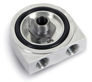 Earl S Performance Engine Oil Filter Sandwich Adapter 518erl