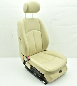 2003 2006 Mercedes E350 W211 Front Left Driver Seat Complete Assembly Tan Oem 1
