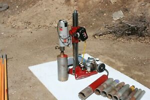 Mk Manta Iii Core Drill With Milwaukee Motor And Vacuum Base