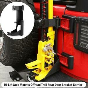 Offroad Hi Lift Jack Mount Hood Bracket For Jeep Wrangler Jk Unlimited Rubicon