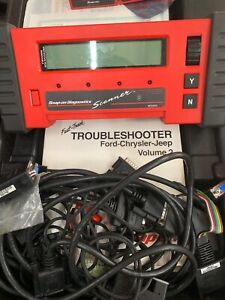 Snap On Mt2500 Diagnostic Scanner With Cartridges Keys Manuals Cables
