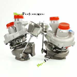 Twin K03 0469 0470 Turbos For Ford Transit 150 250 350 Expedition Navigator 3 5l